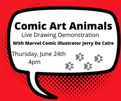 Comic Art Animals